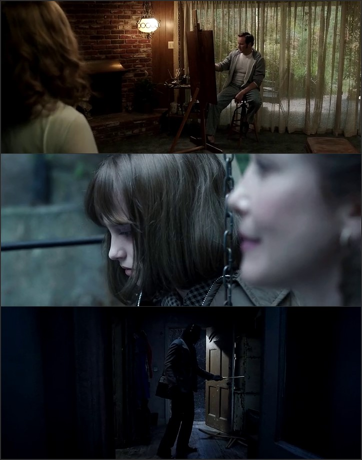 Screen Shot Of The Conjuring 2 2016 300MB Full Movie Hindi Dubbed Free Download 720P BRRip HEVC