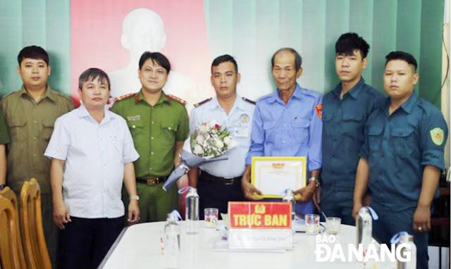 Đà Nẵng : Tuần tra để mang lại Tết bình yên