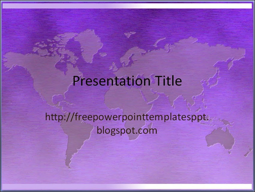 Professional World Global Business PowerPoint Templates And Background