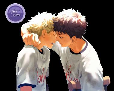 Render - 3 Baseball | yaoi | Abe x ren by  PITviolet