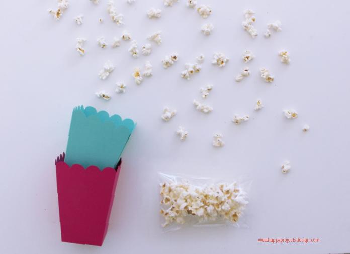 kit cine con cajas de carton selfpackaging