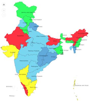 Imd State-Wise Rainfall Statistics