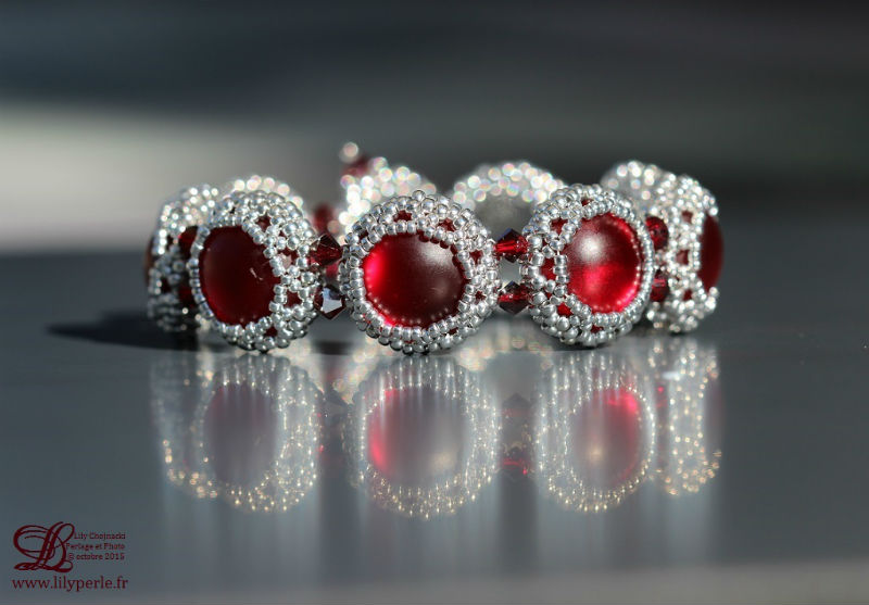Bracelet Scarlett Lilyperle