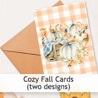 Cozy Fall Cards
