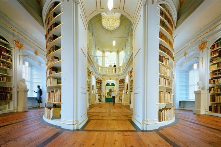 4. Duchess Anna Amalia Library, Weimar, Germany - 31 Incredible Libraries and Bookstores Around the World