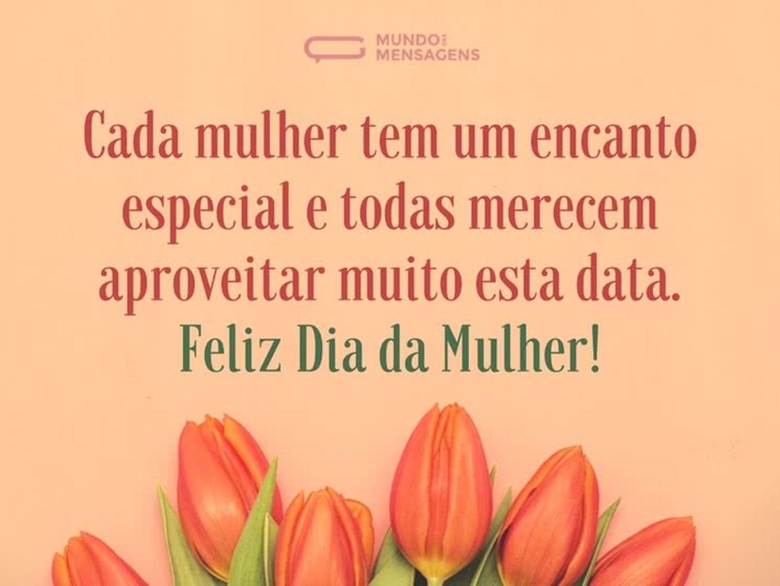 08 de Março de 2019, dia dedicado a homenagear todas as mulheres!