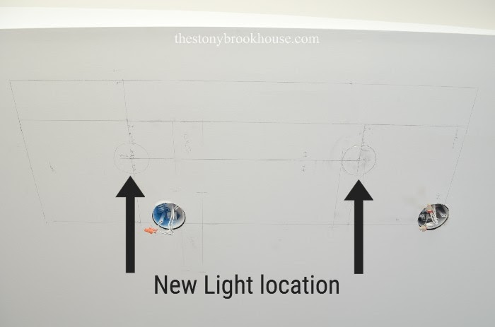 Plans with new light location