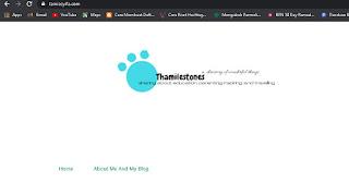 Alamat blog baruku sudah com