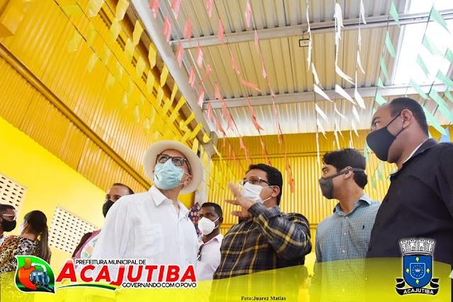Prefeito de Acajutiba, Alex Freitas, prepara novidades para o município