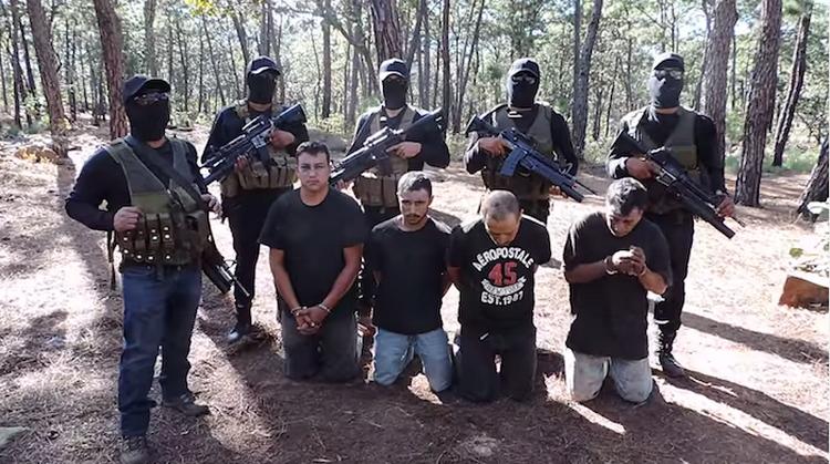 Video: CJNG penetra a  Michoacán por la región colindante con Jalisco
