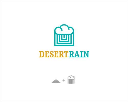 Logo Example - Desert Rain