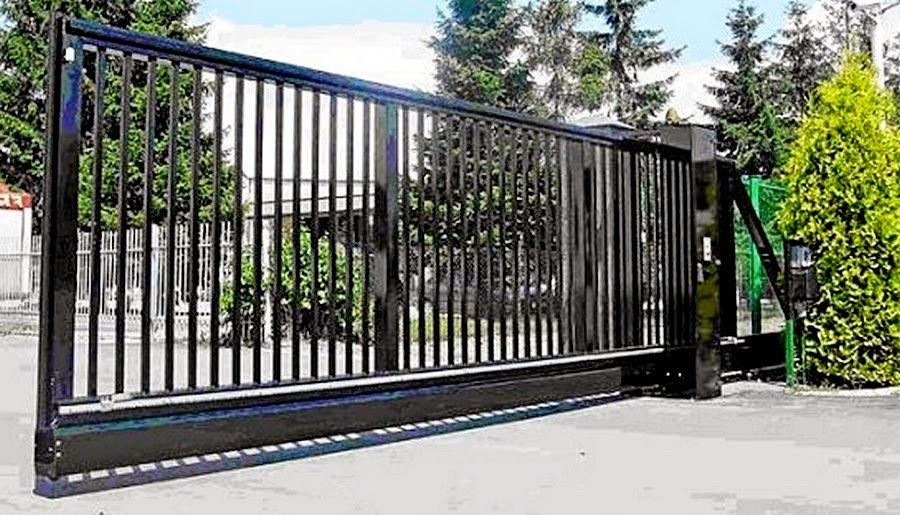 Стоимость откатных ворот