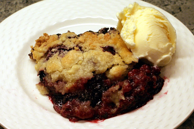 Image result for blackberry cobbler
