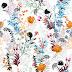 Garden Flower Plants Textile Repeat Design 20080