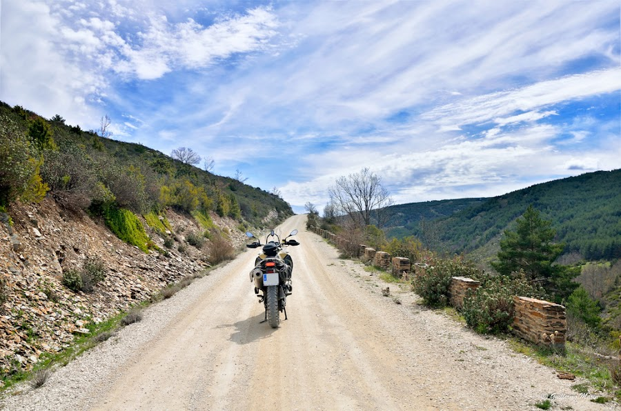 BMW F800GS adventure. Trail Forever por el planeta rojo