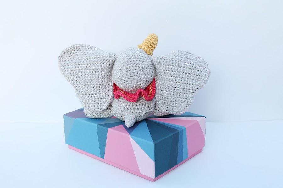 dumbo; amigurumi; crochet;