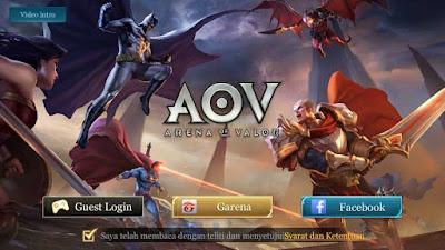 Hero Terkuat Tier S di Arena Of Valor (AOV)