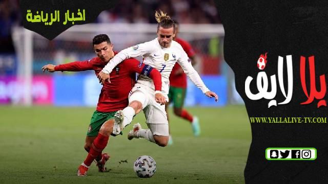 البرتغال 2-2 فرنسا