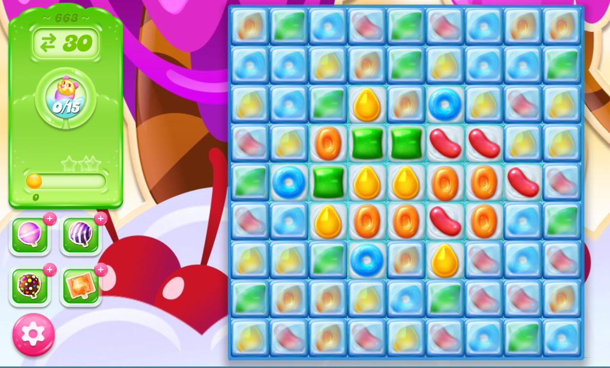 Candy Crush Jelly Saga level 663
