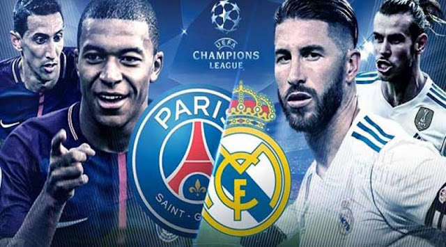 اهداف مباراه باريس سان جيرمان وريال مدريد في دوري ابطال اوروبا اليوم الاربعاء 18-9-2019