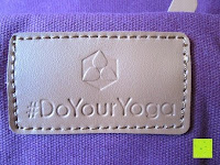Logo: #DoYourYoga Yogabag »Ghanpati« / Yoga mat bag made of high-class Canvas, for EXTRA THICK yogamats / pilatesmats up to 186 x 62 x 1,5 cm, available in 9 fantastic colours.