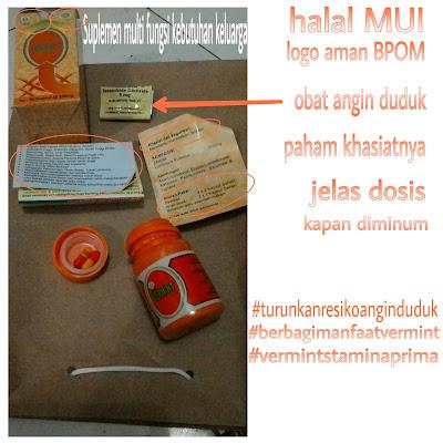 Suplemen aman BPOM halal MUI