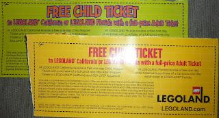 legoland california coupon kids free