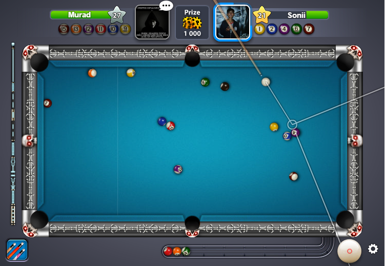 8 ball pool long line hack free download for android