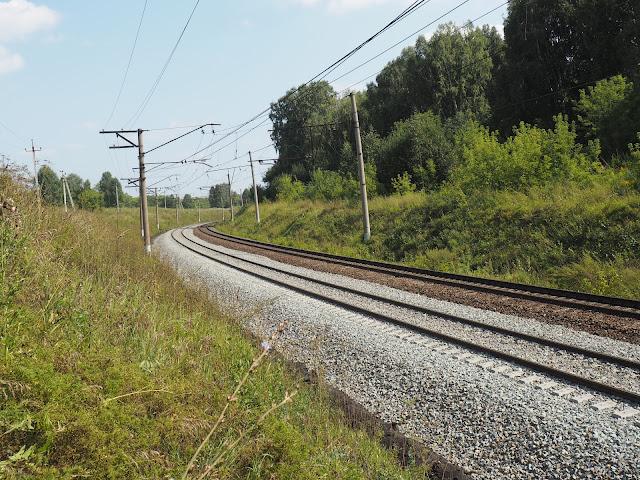 Железная дорога Новосибирск - Тогучин