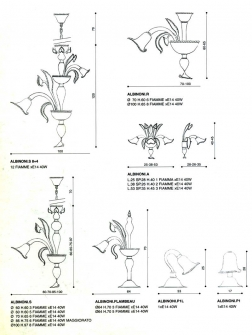ricambi-per-lampadari-della-murrina-modello-ALBINONI