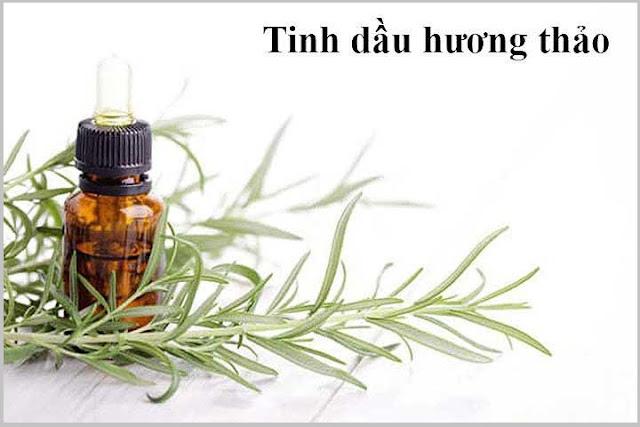 Tinh dầu hương thảo trị rụng tóc