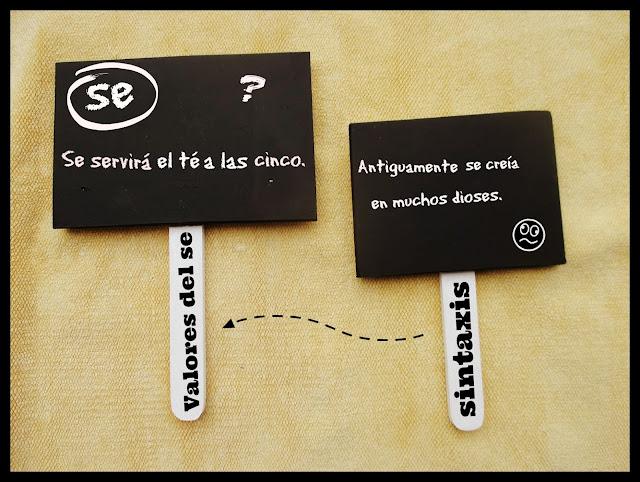 """Sintaxis: Valores del """"se"""""""