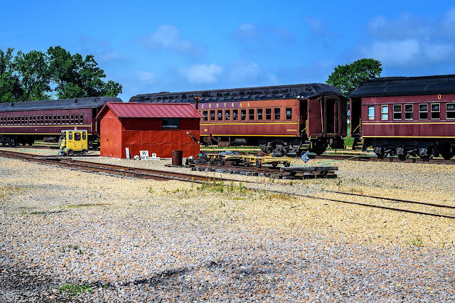 Passenger Cars at the Age of Steam Roundhouse