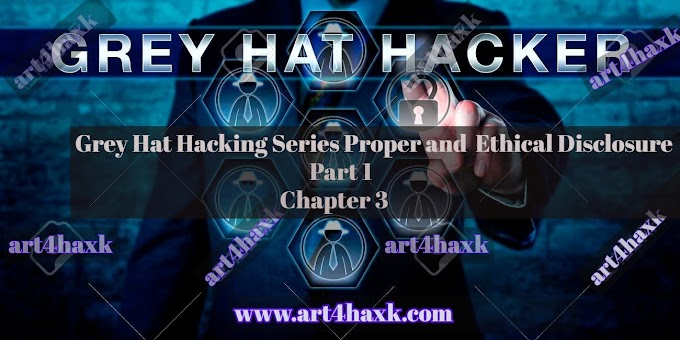 Grey Hat Hacking Series Part 1 Chapter 3 Proper and Ethical Disclosure