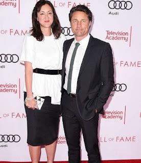 Martin Henderson with his former girlfriend Helen