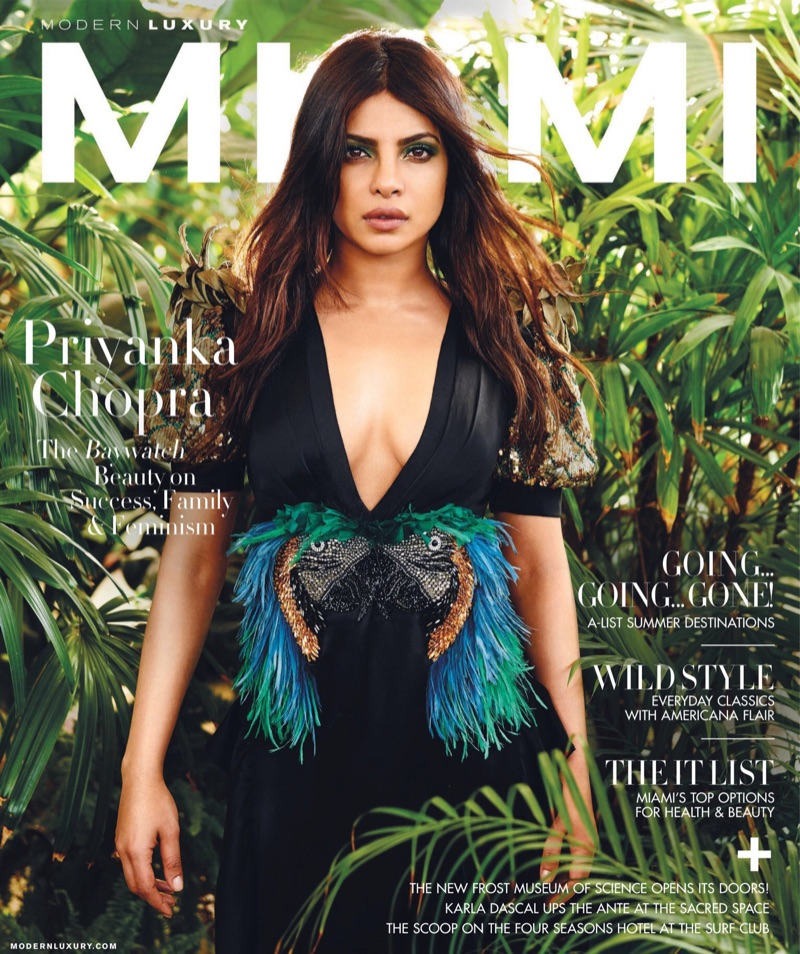 Priyanka Chopra goes glamorous for Modern Luxury Magazine May 2017