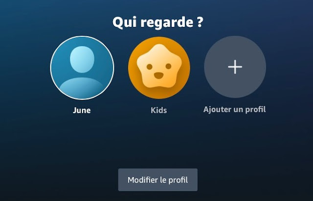 En outre, Amazon a ajouté des avatars personnalisables aux profils et a facilité le changement de profils du nouvel onglet « Who's Watching » ou Qui regarde ?