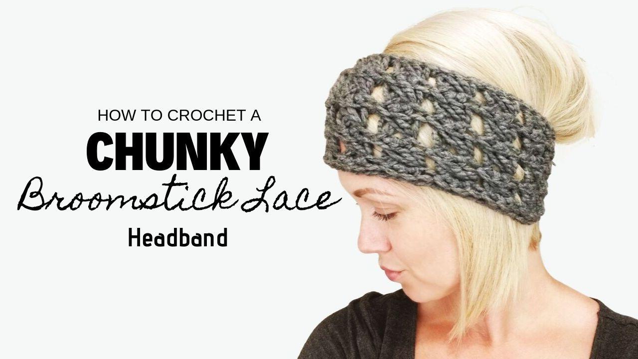 Chunky spiral headband