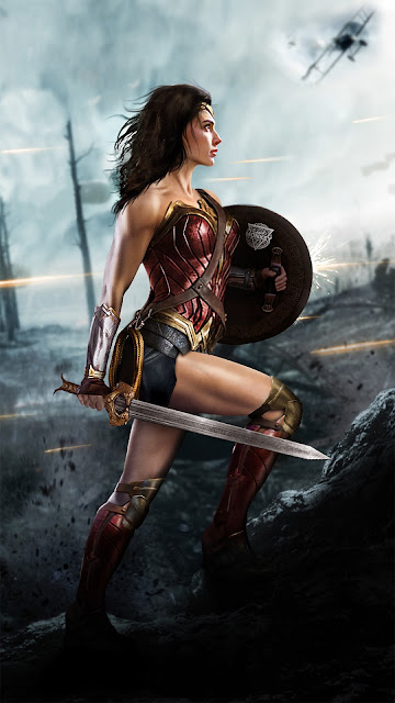Wonder Woman Wallpaper in 1080p