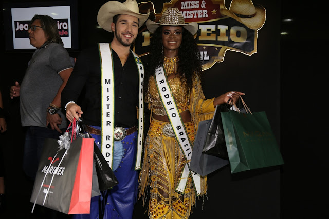 9ad8628180 É de Taquaritinga e Serrana os vencedores do Concurso Miss e o Mister Rodeio  Brasil 2018