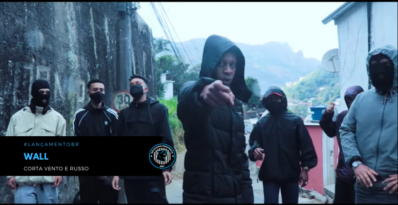 """DRILL   O rapper Wall lança o clipe """"Corta Vento e Russo"""""""