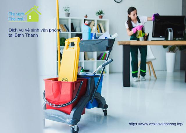 Dịch vụ vệ sinh văn phòng quận Bình Thạnh