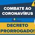 Pindobaçu: Prefeitura prorroga por mais 8 dias decreto municipal em combate ao coronavírus (COVID-19)