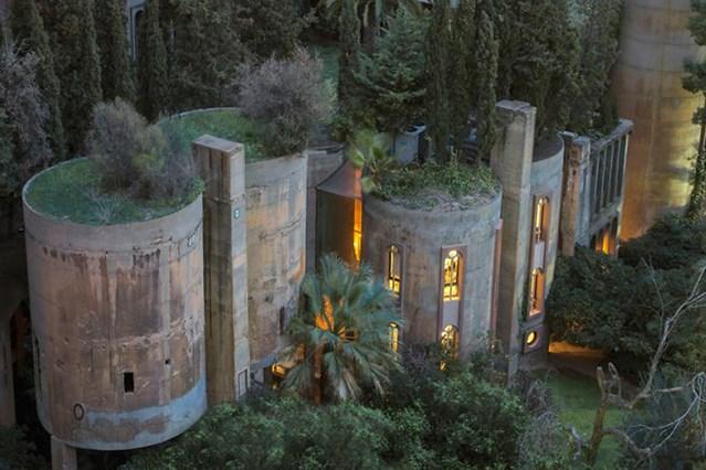 an old cement factory converted in spain