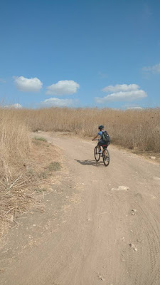 טיול אופניים -תל מקנה