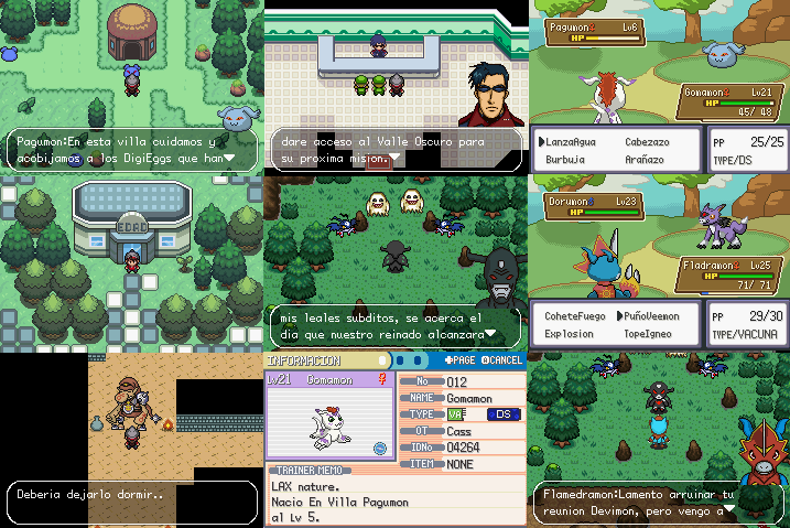 Digimon Alpha GBA ROM Hack Download