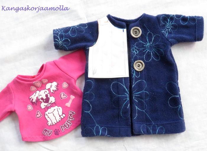 ompeluohje Baby Born nukenvaatteisiin