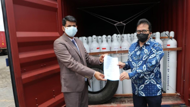Mahfud MD Angkat Bicara Soal Bantuan Oksigen Indonesia ke India
