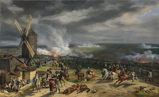 A battlefield scene from around the time Scanagatta  was recruited by the Austrian army fighting France