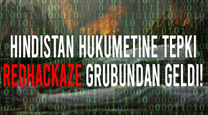 RedHackAze Hindistan Sitelerine Saldırdı!